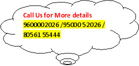 Cloud Callout: Call Us for More details   9600002026 /95000 52026 / 80561 55444